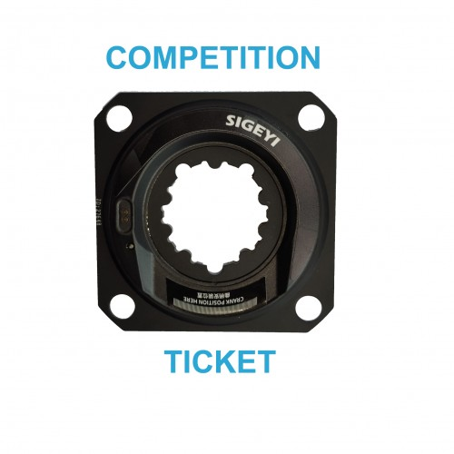 COMPETITION TICKET          SRAM NON BOOST (142MM REAR AXLE) 4 BOLT 104BCD