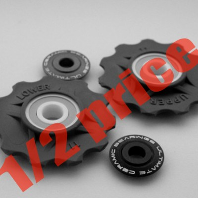 Delrin CNC pulley wheels 11T Campagnolo