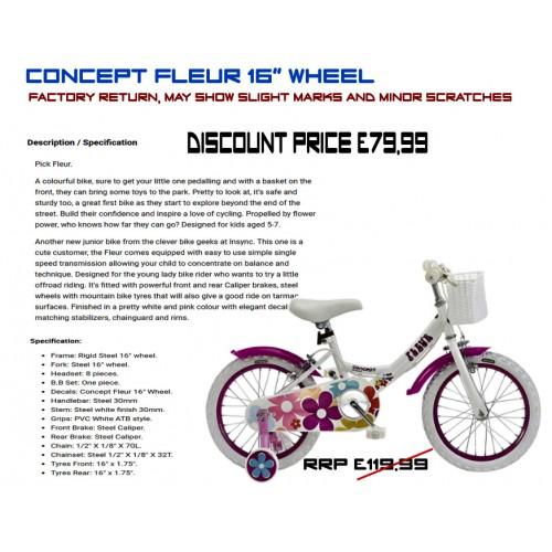 """Insync Fleur 16"""" Wheel - Girls"""