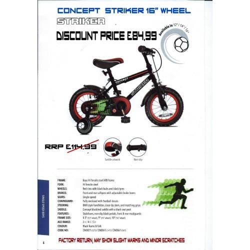 "Concept Striker 16"" wheel - Boys"