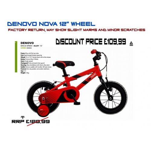 "DeNovo nova 12"" wheel"