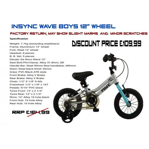 """DeNovo Wave 12"""" wheel"""