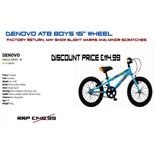 """DeNovo ATB 16"""" Wheel - Boys"""